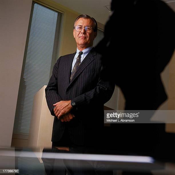 Portrait of Donald Rumsfeld undated
