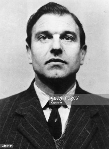 A portrait of doublespy George Blake which was issued by Scotland Yard after his escape from Wormwood Scrubs prison in October 1966 where he was...