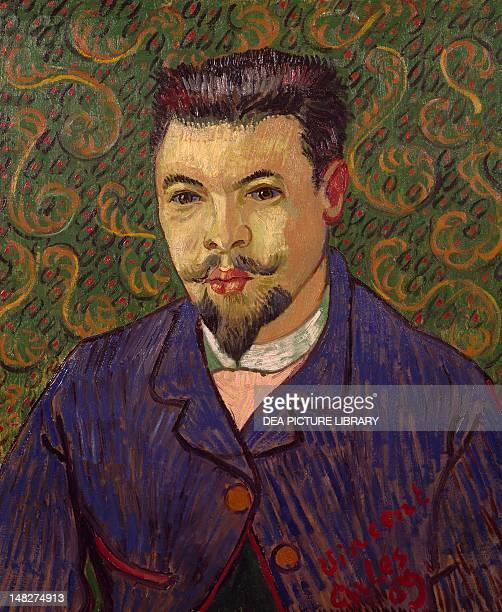 Portrait of Dr Felix Rey by Vincent van Gogh Mosca Gosudarstvennyj Muzej A S Puskina