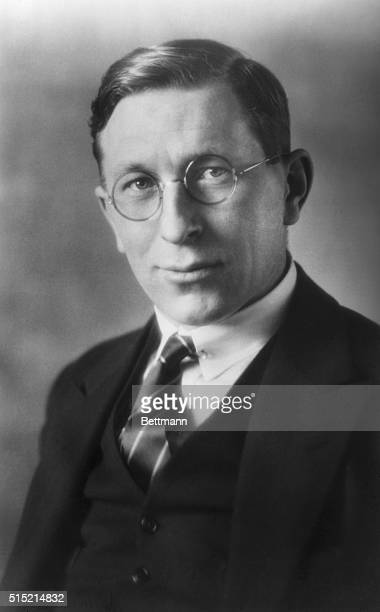 Portrait of Dr Frederick Banting winner of the 1921 Nobel Prize for physiology or medicine Undated photograph
