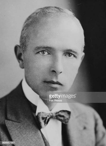 Portrait of Dr J W Tudor Thomas, Harley Street and Cardiff ophthalmic surgeon whose grafting operations have given sight to blind people, May 6th...