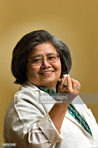 A portrait of Dr Krisana Kraisintu whose pioneering work in generic drugs for the treatment of both AIDS and malaria has opened the door to treatment...