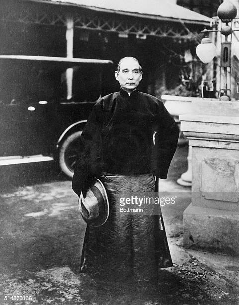 Portrait of Dr Sun Yatsen Chinese statesman and revolutionary leader Undated photograph