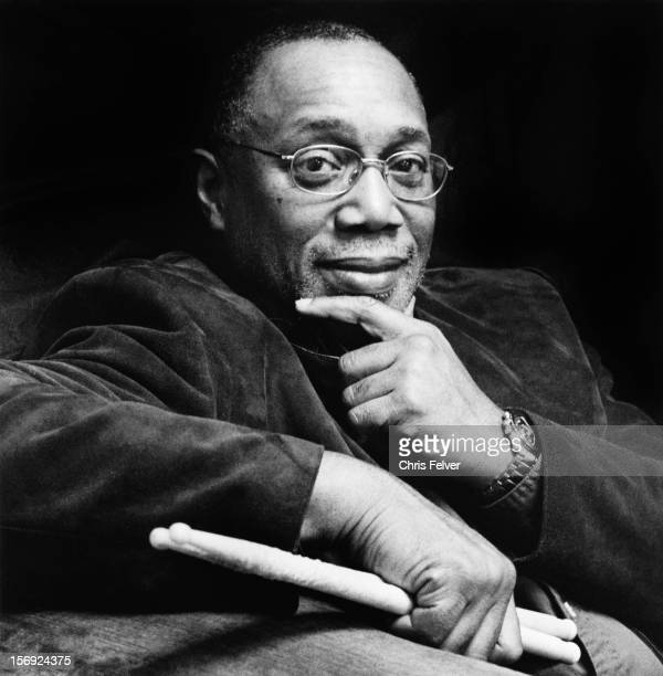 Portrait of drummer Billy Cobham, 2000s.