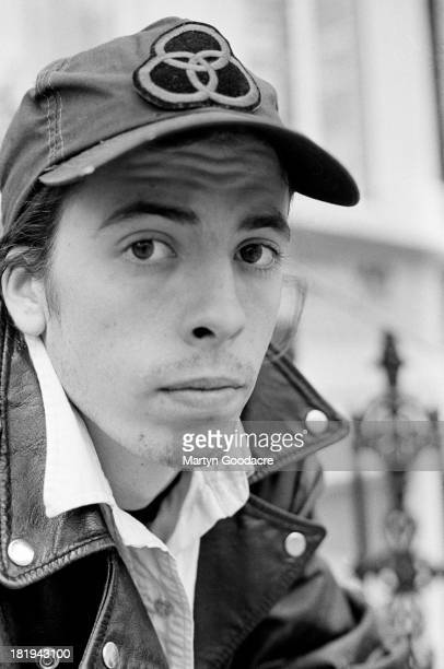 Portrait of drummer Dave Grohl from American grunge band Nirvana in Shepherd's Bush London October 1990