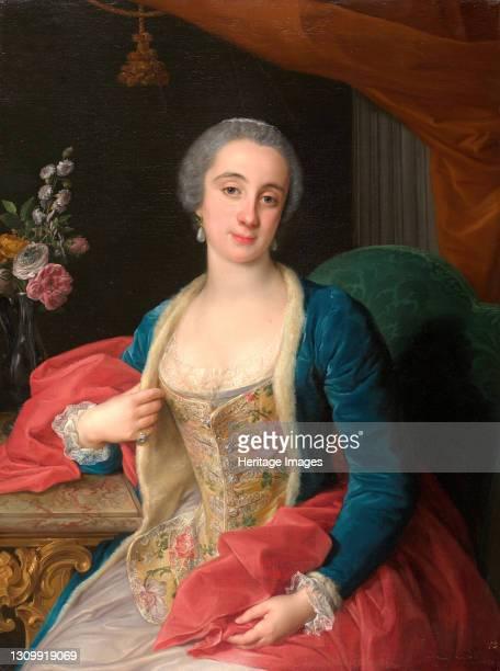 Portrait of Duchess Sforza Cesarini , 1768. Artist Pompeo Batoni. .