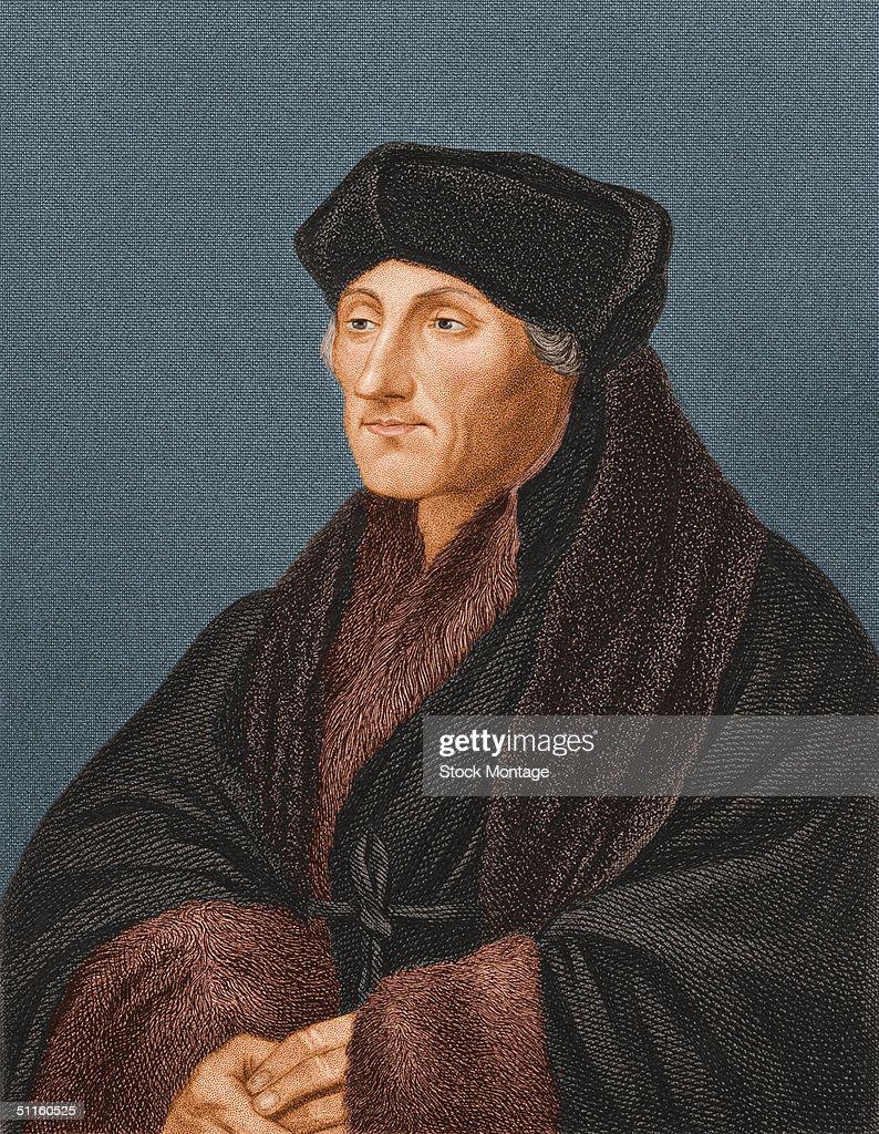 Portrait Of Erasmus Desiderius : News Photo