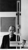 Portrait of dutch painter piet mondrian january 17 1942 in new york picture id53466133?s=170x170