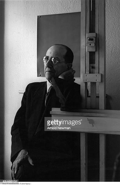 NY: 1st February 1944 - Artist Piet Mondrian Dies