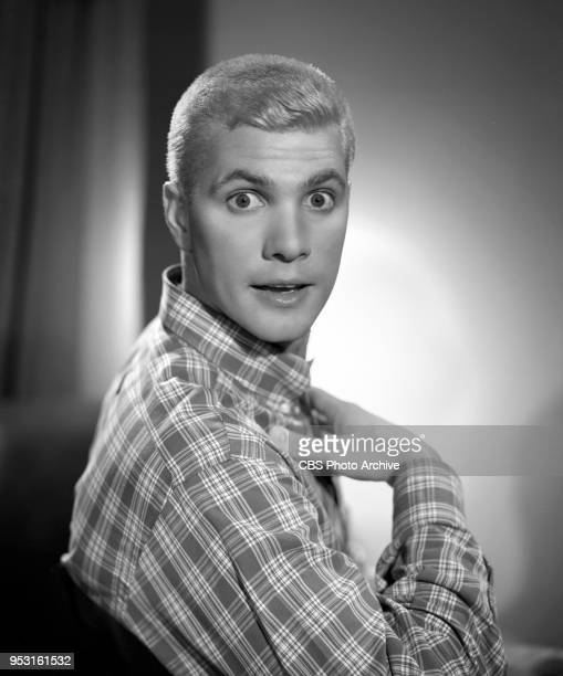 Portrait of Dwayne Hickman He performs on the CBS television comedy series The Many Loves of Dobie Gillis June 19 1959 Los Angeles CA