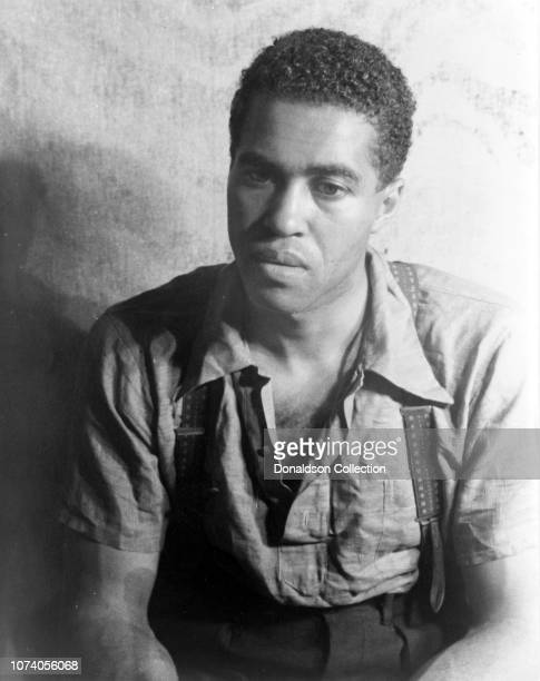 "Portrait of Earl Jones in Langston Hughes' ""Don't You Want to be Free"""