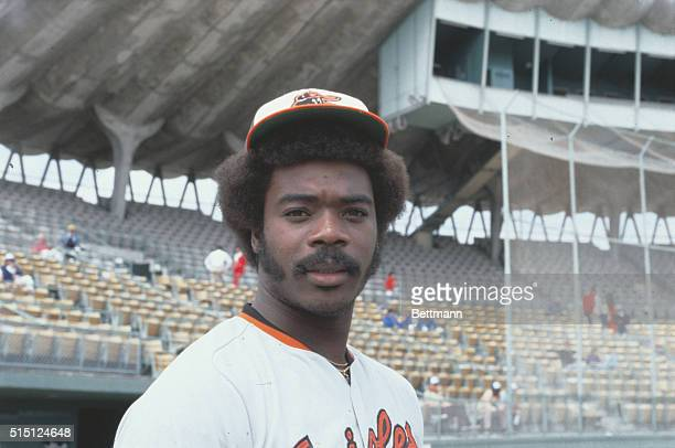 Portrait of Eddie Murray first baseman for the Baltimore Orioles