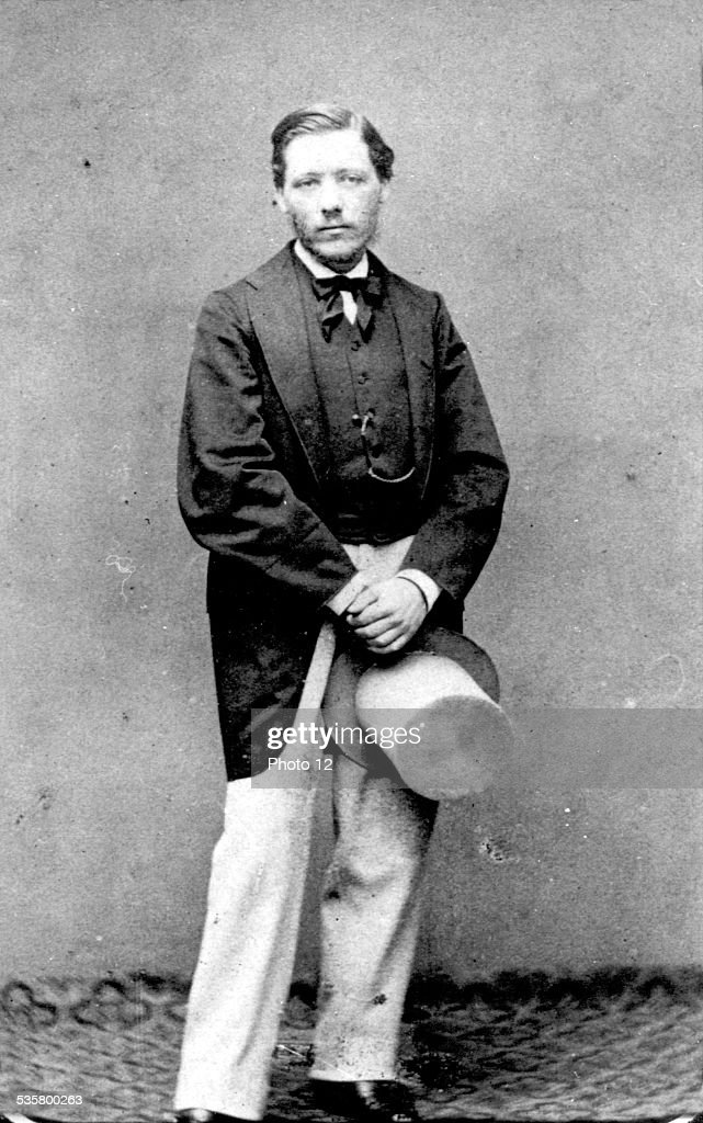 Portrait of Edgar Degas : Foto jornalística