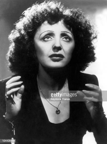 A portrait of Edith Piaf in the New York Play House at the height of her career