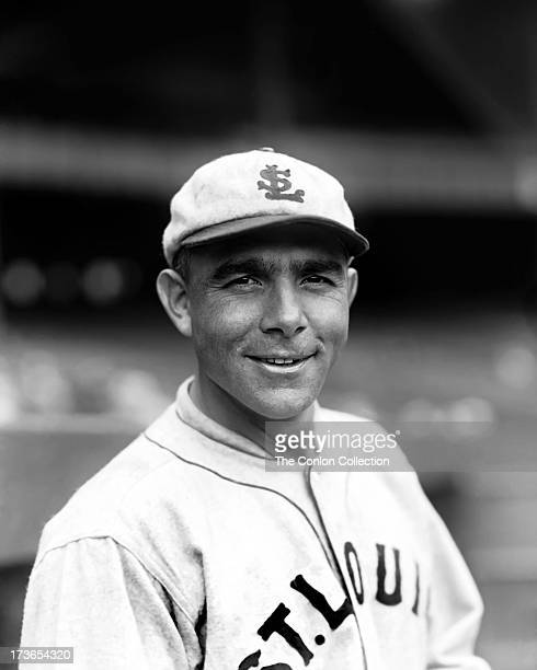 A portrait of Edmund J Miller of the St Louis Browns in 1927