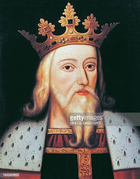 Portrait of Edward III of Windsor King of England and Lord of Ireland Versailles Château De Versailles