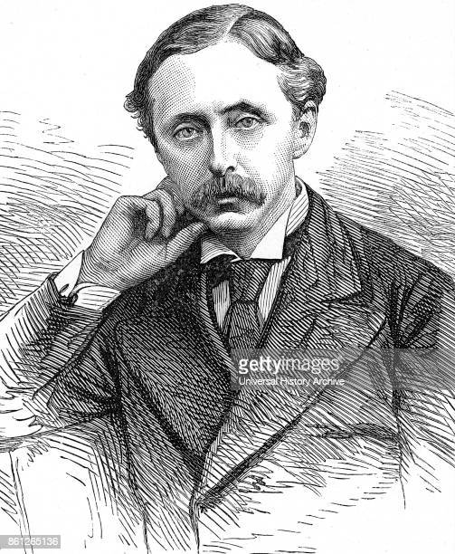 Portrait of Edward Stanhope a British Conservative Party politician Dated 19th Century