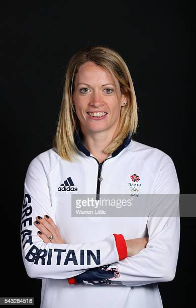 A portrait of Eilidh Doyle a member of the Great Britain Olympic team during the Team GB Kitting Out ahead of Rio 2016 Olympic Games on June 27 2016...