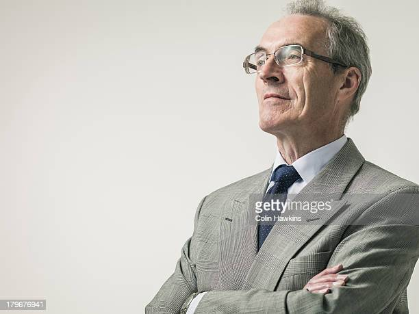 Portrait of elderly Business man
