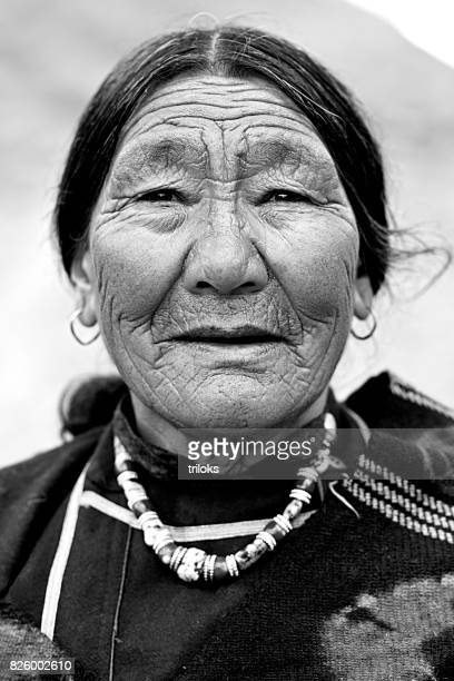Porträt der Ältere Frau