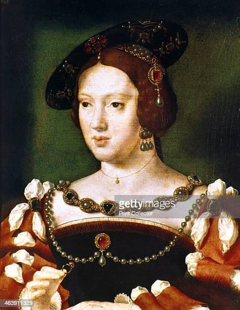 Portrait of Eleanor of Hapsbourg Queen of France c15301540 Eleanor of Hapsbourg was Archduchess of Austria Queen of Portugal then Queen of France and...