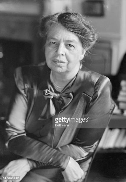 Portrait of Eleanor Roosevelt American author diplomat humanitarian and 32nd First Lady Undated photograph