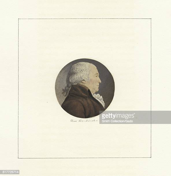 A portrait of Elias Boudinot he was a lawyer who served as a delegate to the Continental Congress from 1782 until 1783 he served as President of...