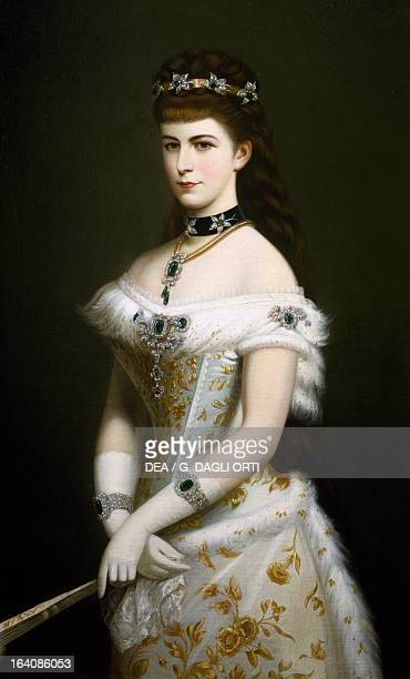 Portrait of Elisabeth of Austria Empress of Austria