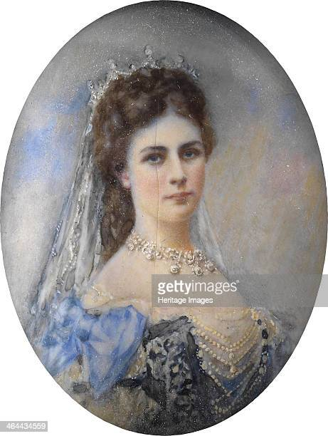 Portrait of Elisabeth of Bavaria c 1900 From a private collection