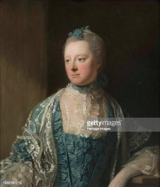 Portrait of Elizabeth, Countess of Salisbury, née Keet , 1769. Found in the Collection of the Musée des Beaux-Arts, Bordeaux. Artist Ramsay, Allan .