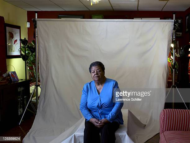 Portrait of Elizabeth Eckford in her home Little Rock Arkansas March 6 2011 Eckford was one of the Little Rock Nine who after the landmark 'Brown vs...