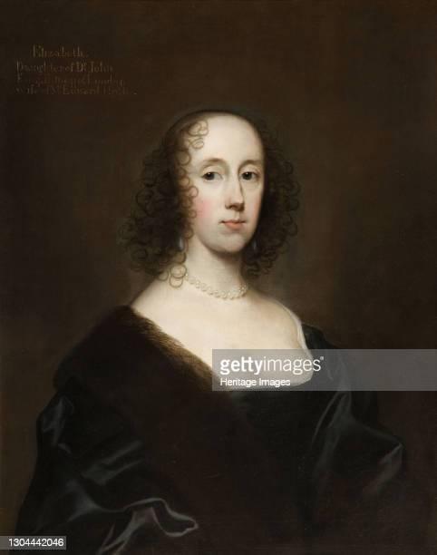 Portrait of Elizabeth Holte , 1636. Artist Cornelis Janssens van Ceulen.