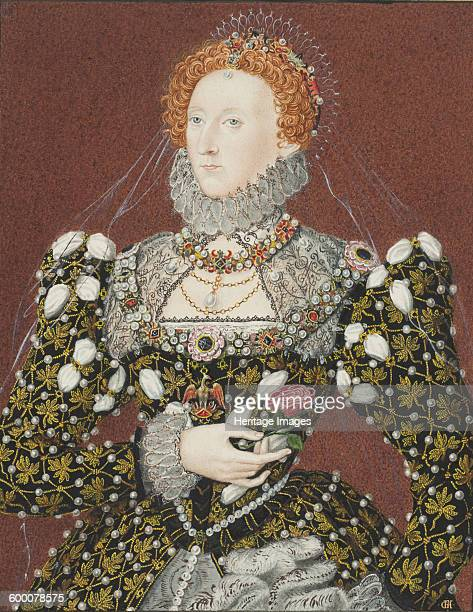 Portrait of Elizabeth I of England Private Collection Artist Anonymous