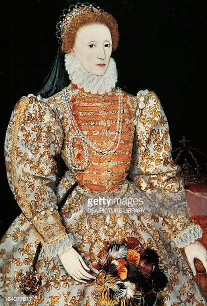 Portrait of Elizabeth I of England Queen of England and Ireland London National Gallery