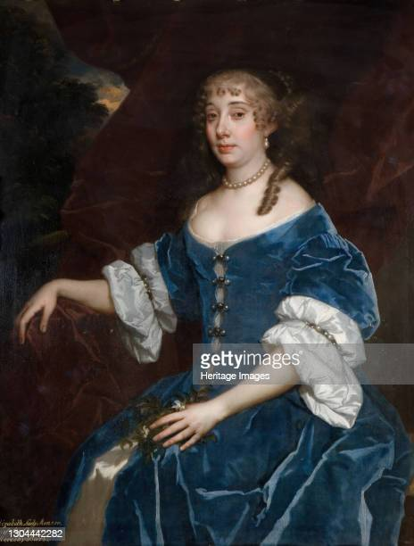 Portrait of Elizabeth Lady Monson, 1680. Artist Peter Lely.