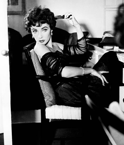 Portrait of Elizabeth Taylor in the 1950's