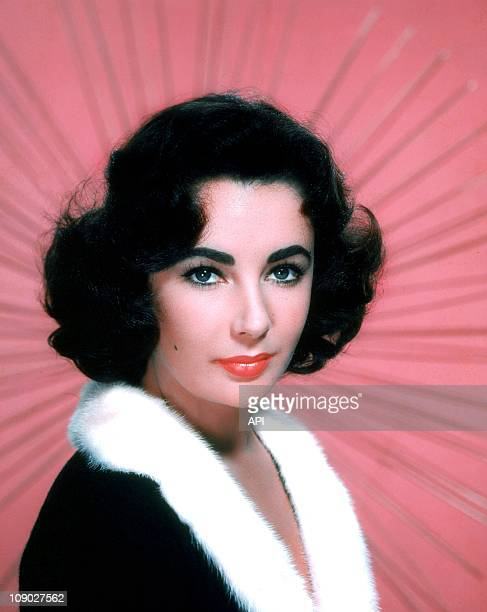 A portrait of Elizabeth Taylor in the 1950s
