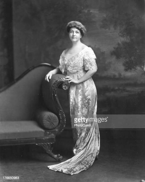 Portrait of Ellen Axson Wilson the first wife of President Woodrow Wilson the 28th President of the United States undated
