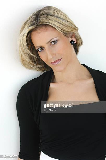 Portrait of Emily Maitlis presenter and newsreader on Newsnight BBC News 24 and the National news