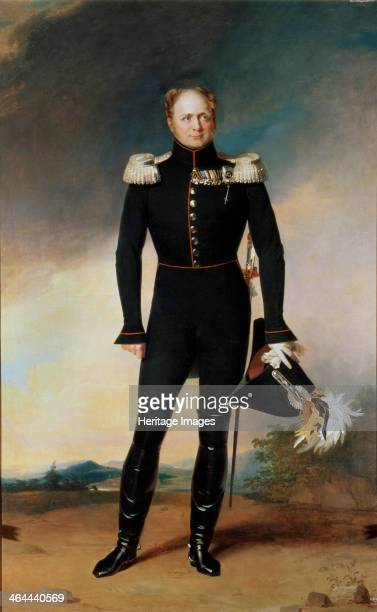 'Portrait of Emperor Alexander I' 1825 Alexander ascended to the throne after the murder of his father Paul I He was initially a liberal and a...