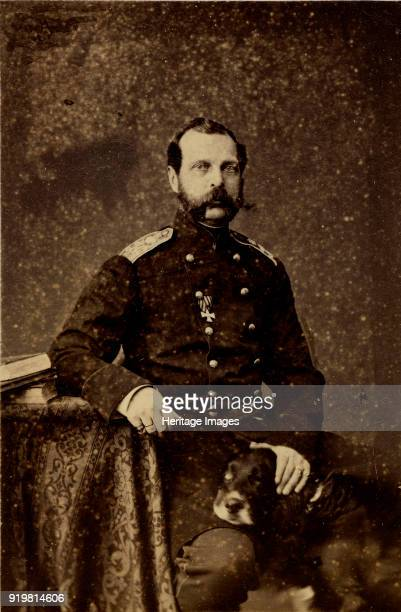 Portrait of Emperor Alexander II 1873 Found in the collection of Russian State Film and Photo Archive Krasnogorsk