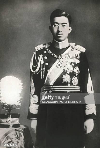 Portrait of Emperor Hirohito Japan.