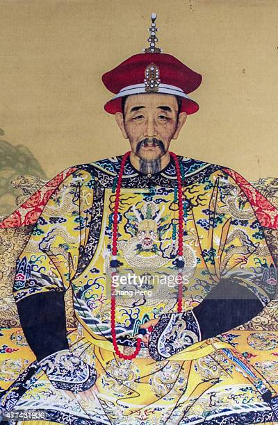 Portrait of Emperor Kangxi The Mountain Resort in Chengde listed as UNESCO World Heritage site is the largest existing complex of imperial palaces...