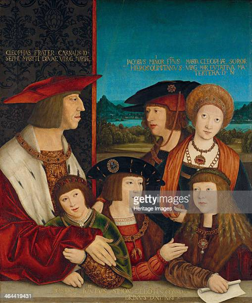 Portrait of Emperor Maximilian I with His Family, 1516-1520. Found in the collection of the Art History Museum, Vienne.