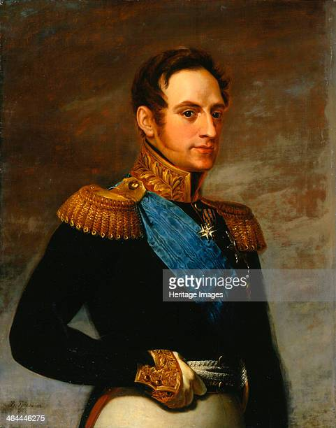 'Portrait of Emperor Nicholas I', 1826. Nicholas was Tsar from 1825-1855. His aggressive foreign policy towards the Ottoman Empire culminated in the...