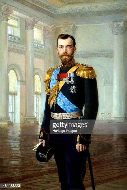 'Portrait of Emperor Nicholas II' 1900 Nicholas succeeded his father Alexander III as Emperor of Russia in 1894 He was forced to abdicate after the...