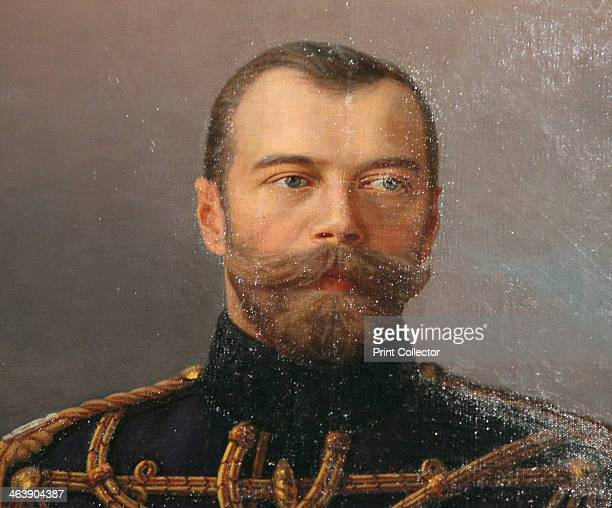 'Portrait of Emperor Nicholas II' 19151916 Detail Nicholas succeeded his father Alexander III as Emperor of Russia in 1894 He was forced to abdicate...