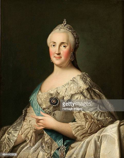 Portrait of Empress Catherine II c 1780 From a private collection