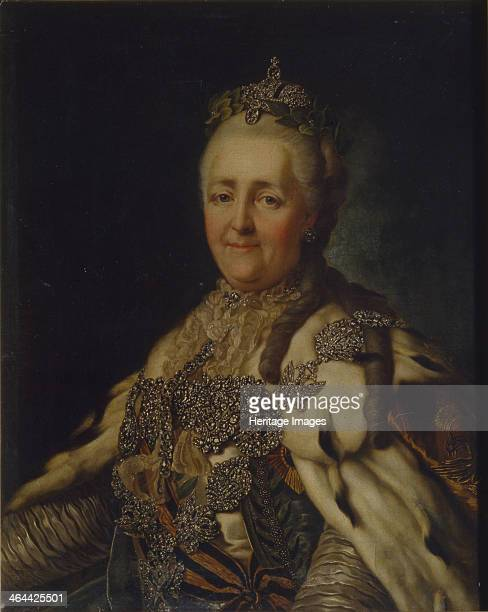 Portrait of Empress Catherine II Found in the collection of the Regional Art Museum Vinnytsia