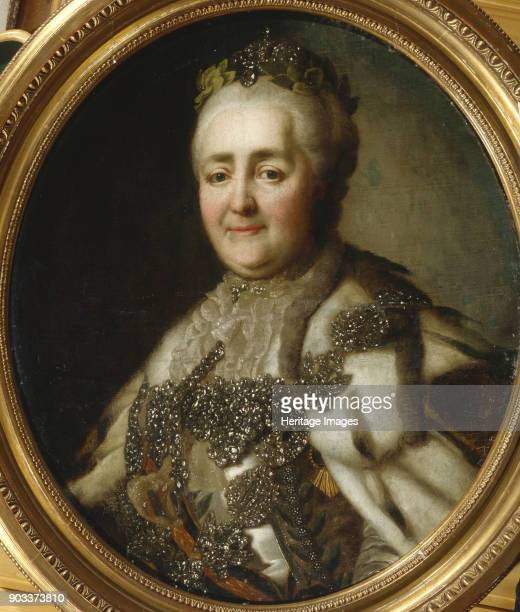 Portrait of Empress Catherine II Private Collection